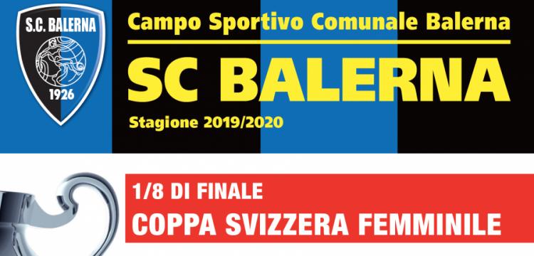 Coppa Svizzera, Balerna-Luzern Ottavi di finale il 26 ottobre!
