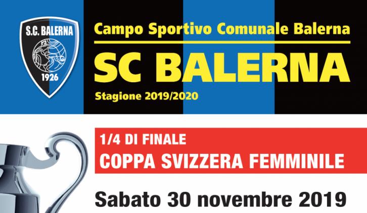 Vi aspettiamo per il Quarto di Finale Balerna – Servette di Coppa Svizzera!